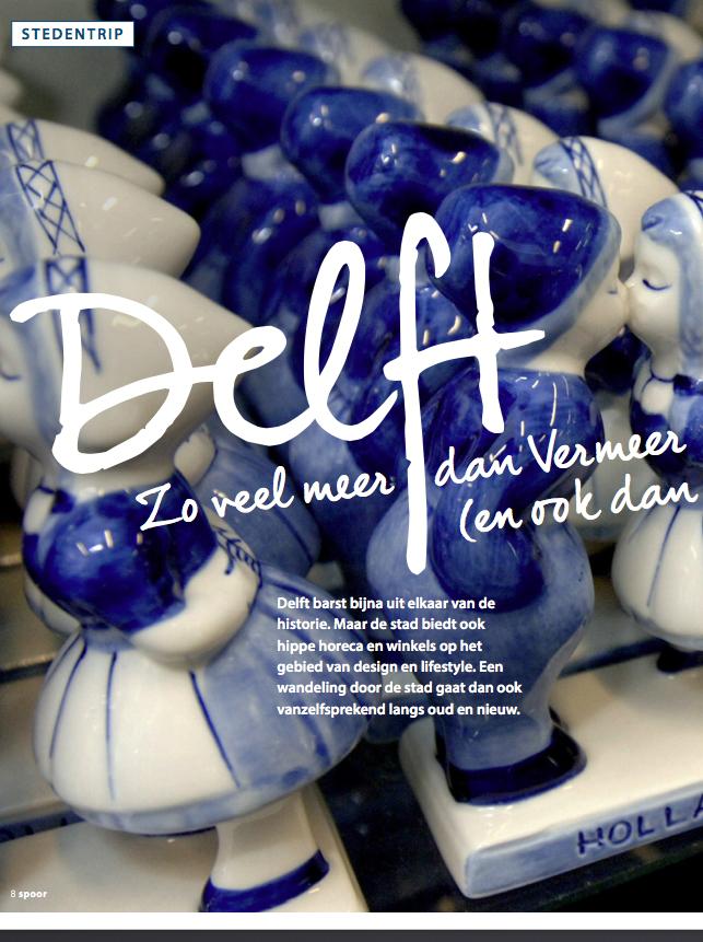 Delft reportage Spoor